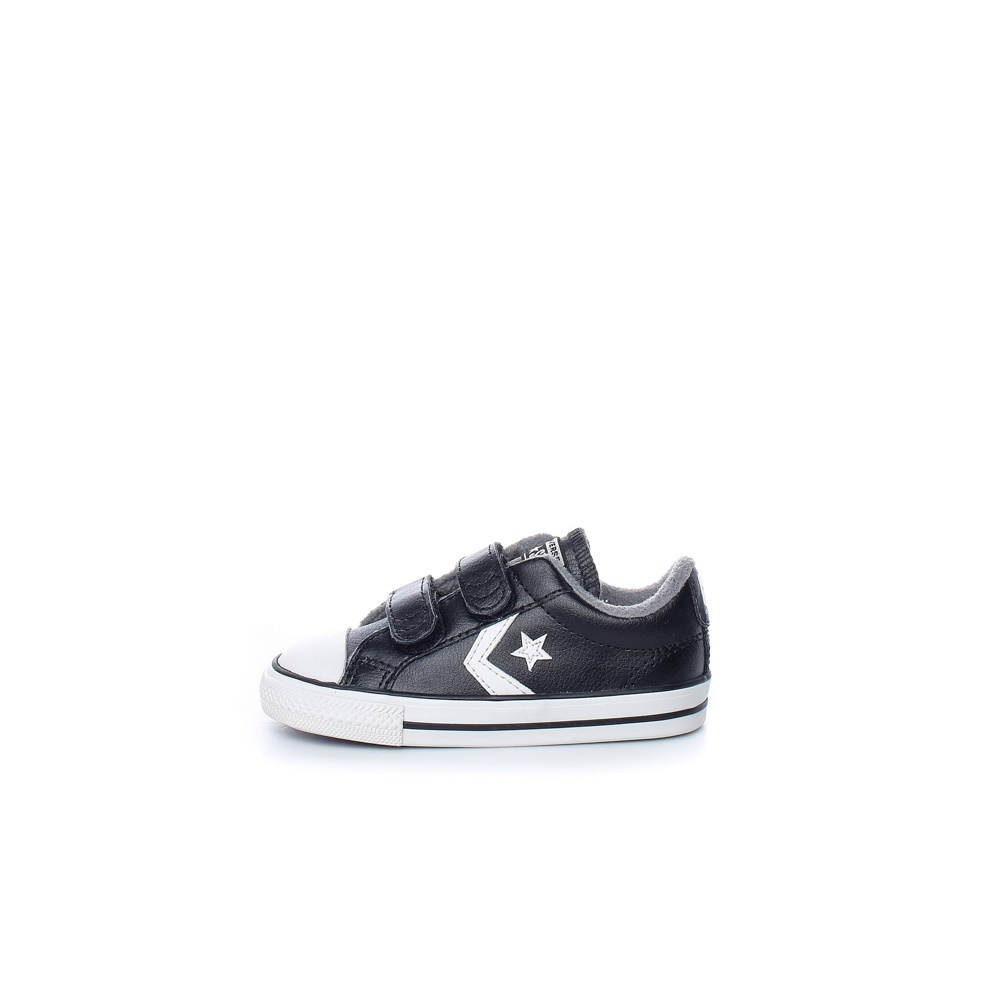 CONVERSE – Βρεφικά CONVERSE STAR PLAYER 2V μαύρα