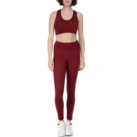 4b3681dad1d9 Σετ γυναικείο αθλητικό κολάν και μπουστάκι Baya μπορντό (1651908.0-q500)