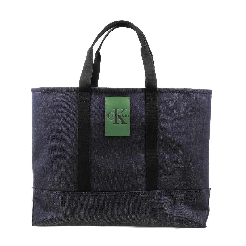 CALVIN KLEIN JEANS - Unisex τσάντα χειρός Calvin Klein Jeans CANVAS CARRYALL TOT γυναικεία αξεσουάρ τσάντες σακίδια χειρός