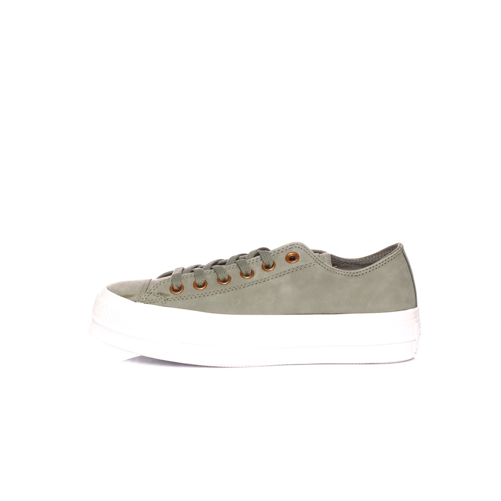 CONVERSE – Γυναικεία sneakers CHUCK TAYLOR ALL STAR CLEAN χακί