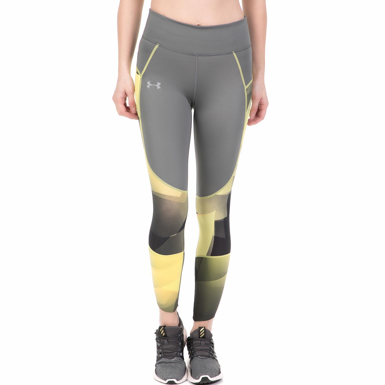 b8478017cdf5 UNDER ARMOUR – Γυναικείο αθλητικό κολάν L&W PERF LACE UNDER ARMOUR  γκρι-κίτρινο