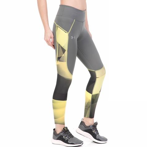 02feab18f4b5 Γυναικείο αθλητικό κολάν L W PERF LACE UNDER ARMOUR γκρι-κίτρινο ...