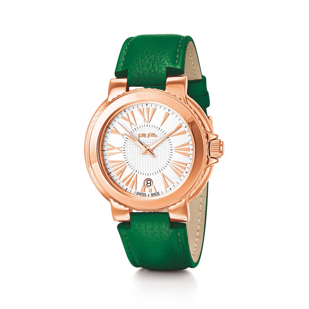 5ef7a58790 Factoryoutlet FOLLI FOLLIE - Γυναικείο ρολόι Folli Follie πράσινο
