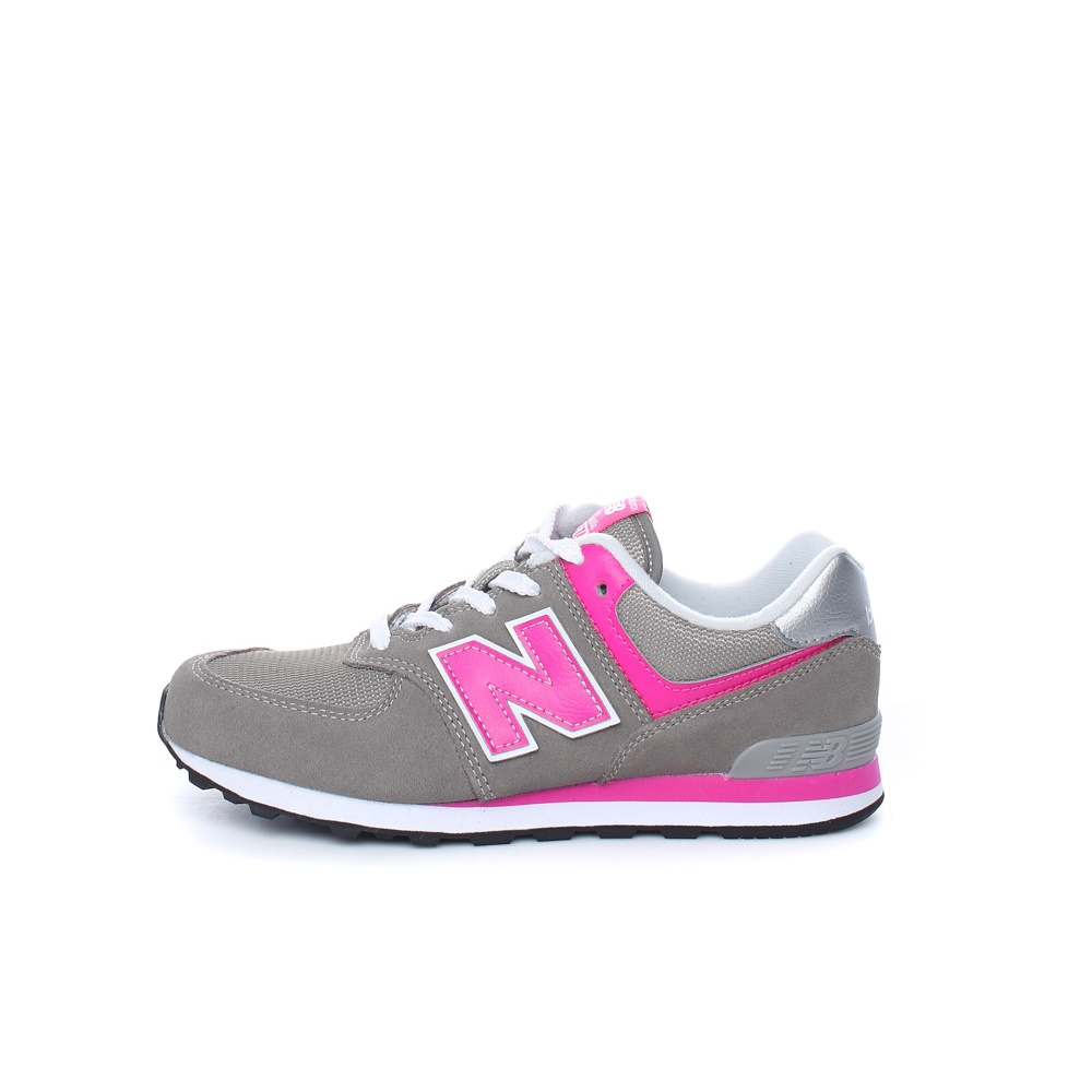 NEW BALANCE – Γυναικεία sneakers NEW BALANCE 574 γκρι-ροζ
