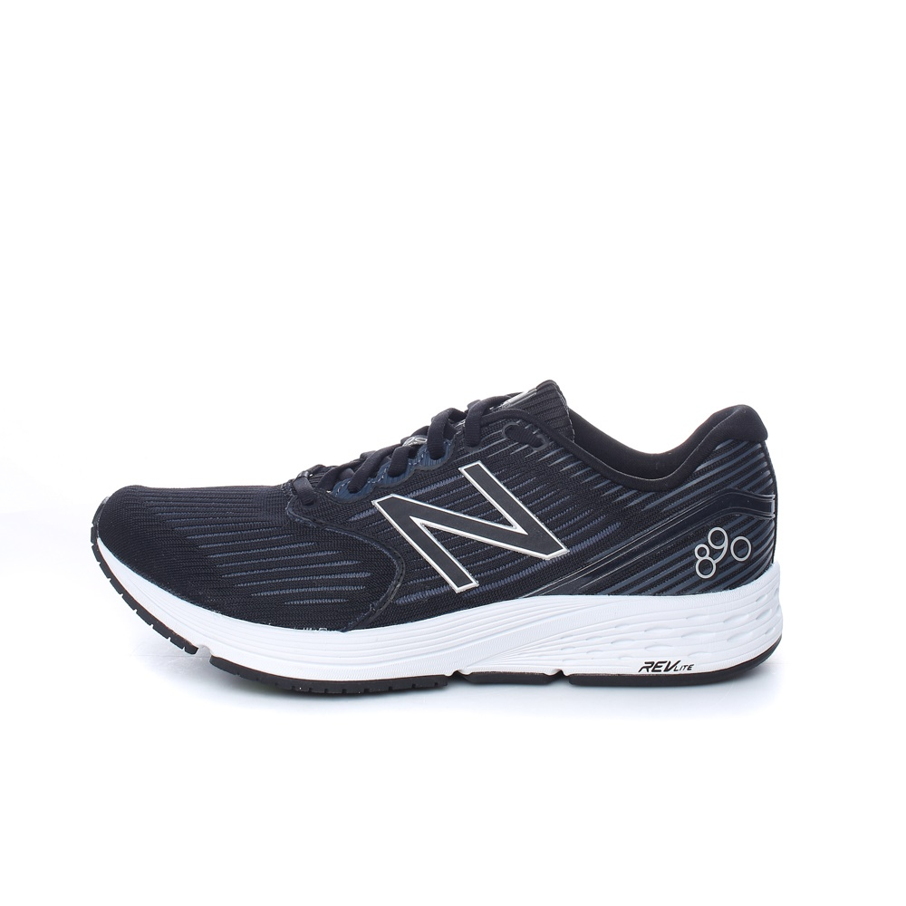 NEW BALANCE – Unisex παπούτσια running NEW BALANCE 890 μαύρα-ανθρακί
