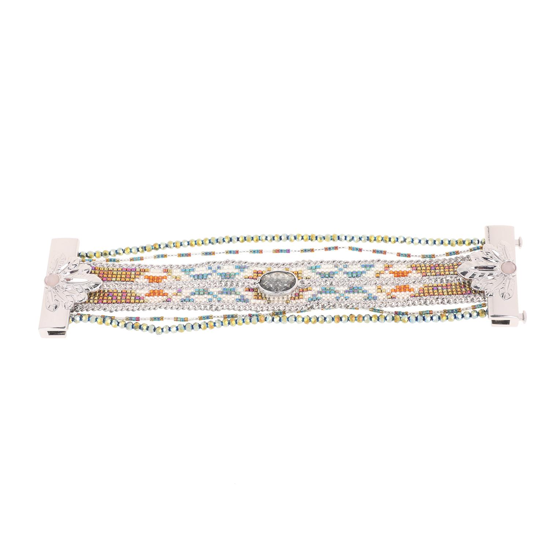 HIPANEMA - Γυναικείο βραχιόλι από μέταλλο HIPANEMA ασημί