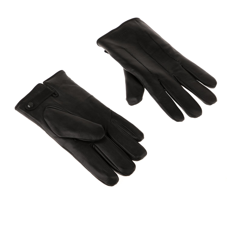 TED BAKER - Ανδρικά γάντια TED BAKER RAINBOE μαύρα
