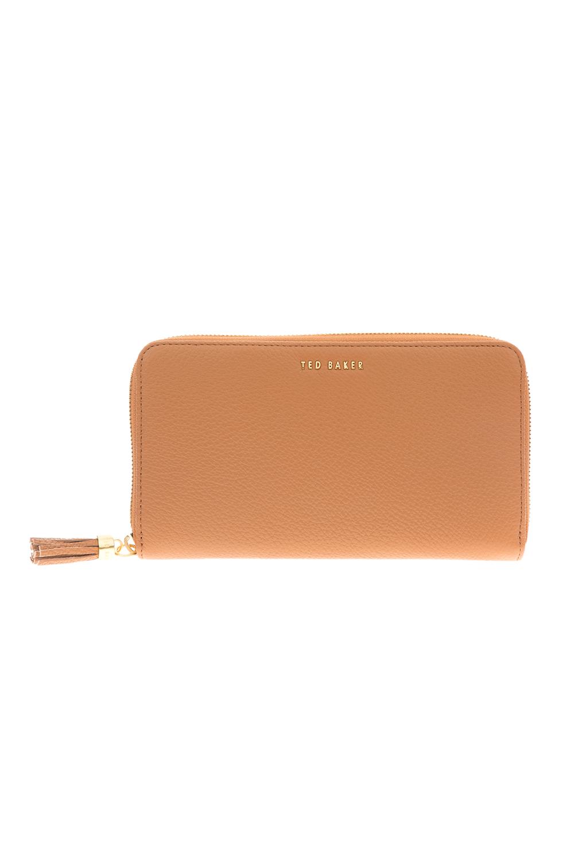c36e147567 TED BAKER – Γυναικείο πορτοφόλι SHEEA TASSEL ZIP AROUND MATINEE καφέ
