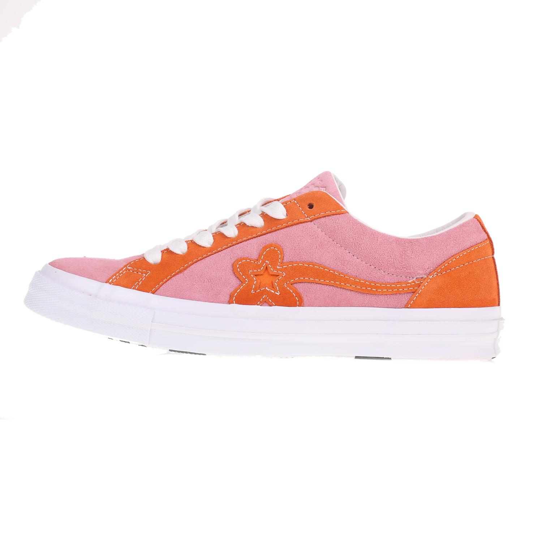 4cb6d9e7d44d -30% Factory Outlet CONVERSE – Unisex sneakers CONVERSE One Star Golf Le  Fleur ροζ
