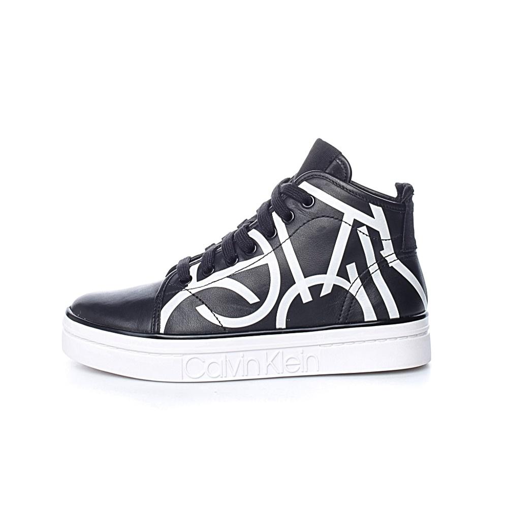 CALVIN KLEIN JEANS – Γυναικεία sneakers KAYCE CALVIN KLEIN JEANS μαύρα