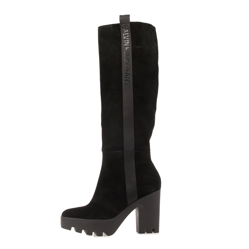 CALVIN KLEIN JEANS – Γυναικείες μπότες CALVIN KLEIN JEANS SIBILLA μαύρες