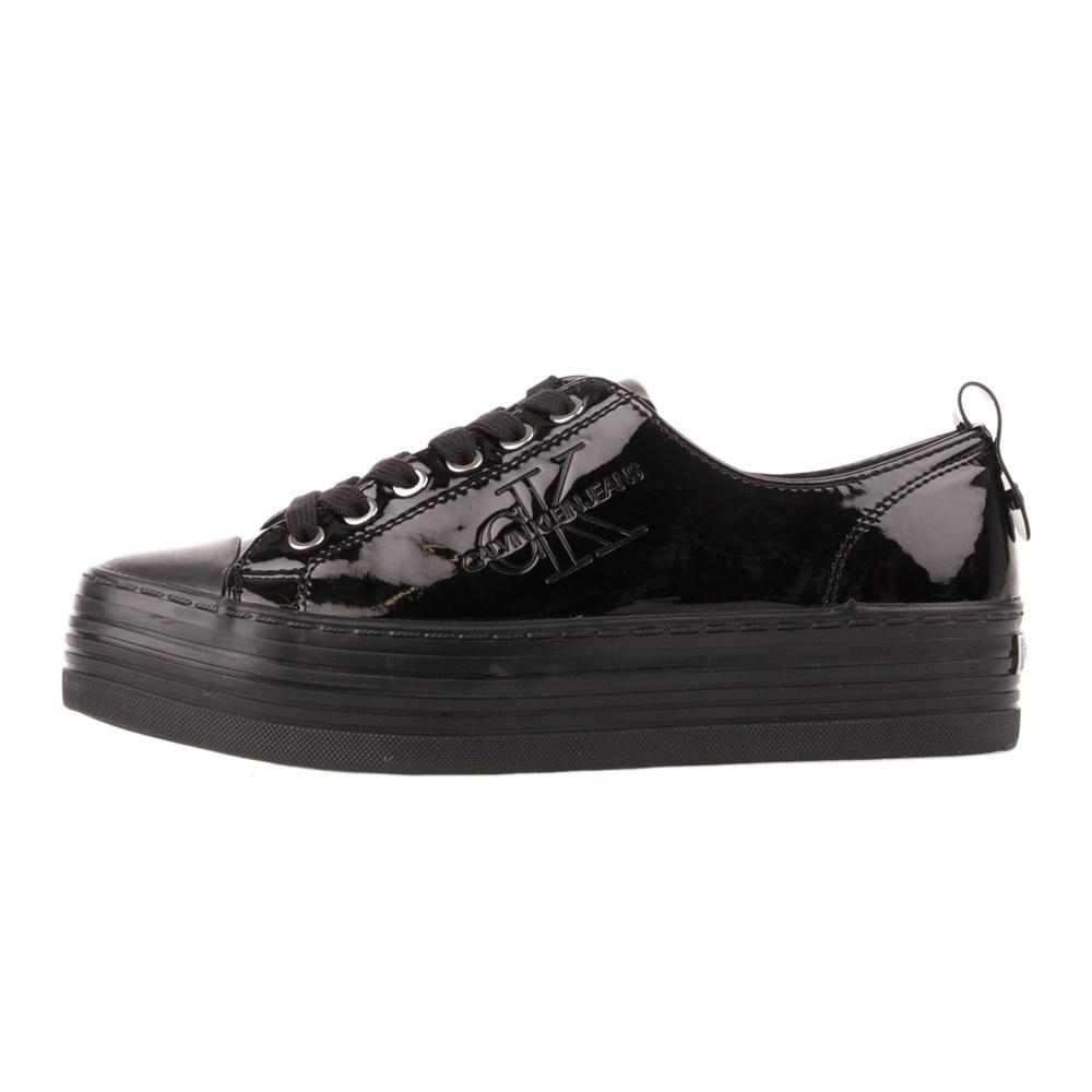 CALVIN KLEIN JEANS – Γυναικεία sneakers CALVIN KLEIN JEANS ZOLAH μαύρα