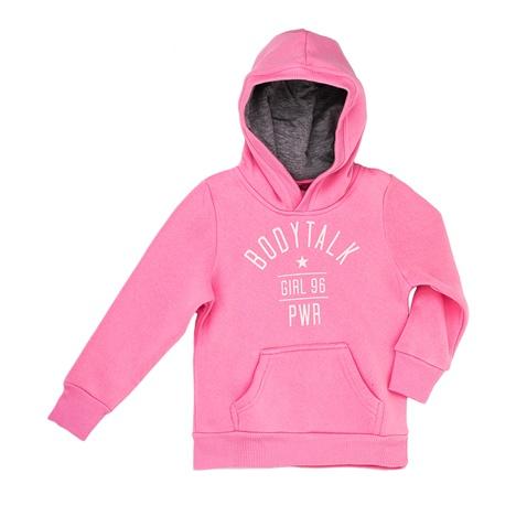Παιδική φούτερ μπλούζα Bodytalk ροζ (1660210.0-0209)  ab994eda793