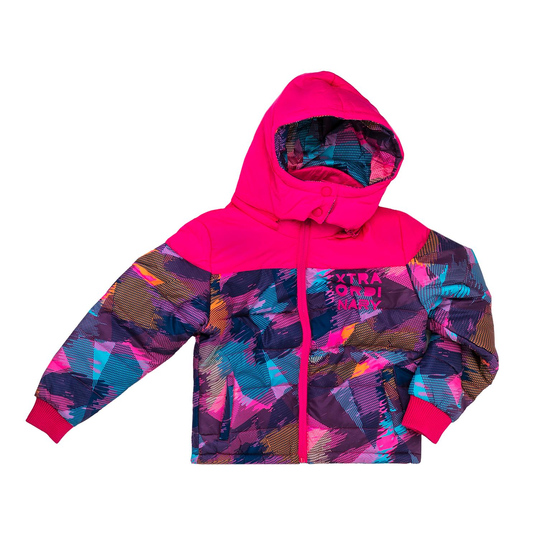 BODYTALK - Παιδικό μπουφάν Bodytalk πολύχρωμο παιδικά girls ρούχα πανωφόρια