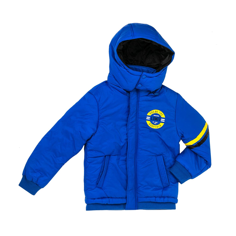 BODYTALK - Παιδικό μπουφάν Bodytalk μπλε παιδικά boys ρούχα πανωφόρια