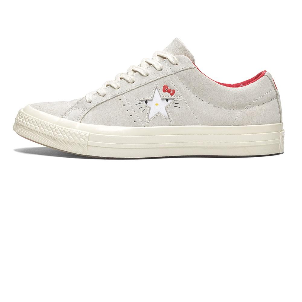 CONVERSE – Γυναικεία sneakers Converse x Hello Kitty One Star λευκά