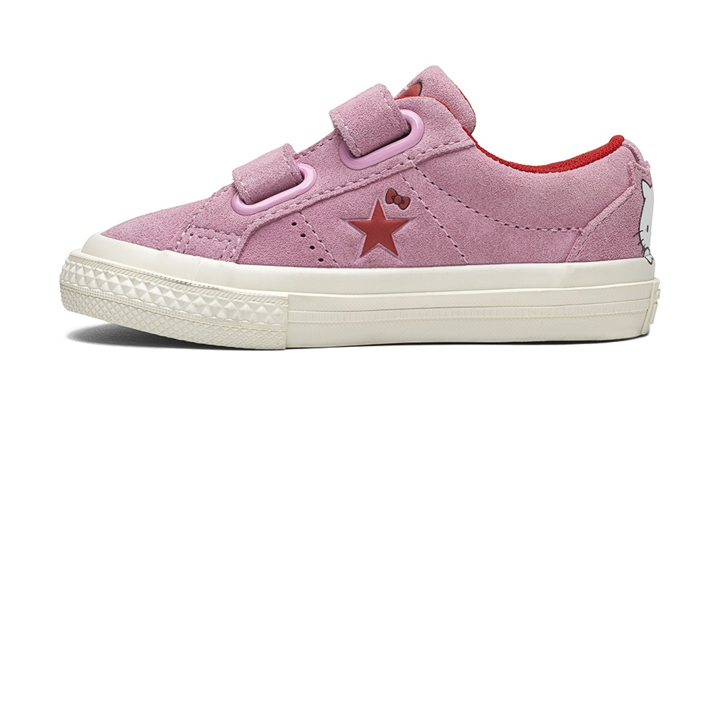 CONVERSE – Βρεφικά sneakers Converse x Hello Kitty One Star ροζ
