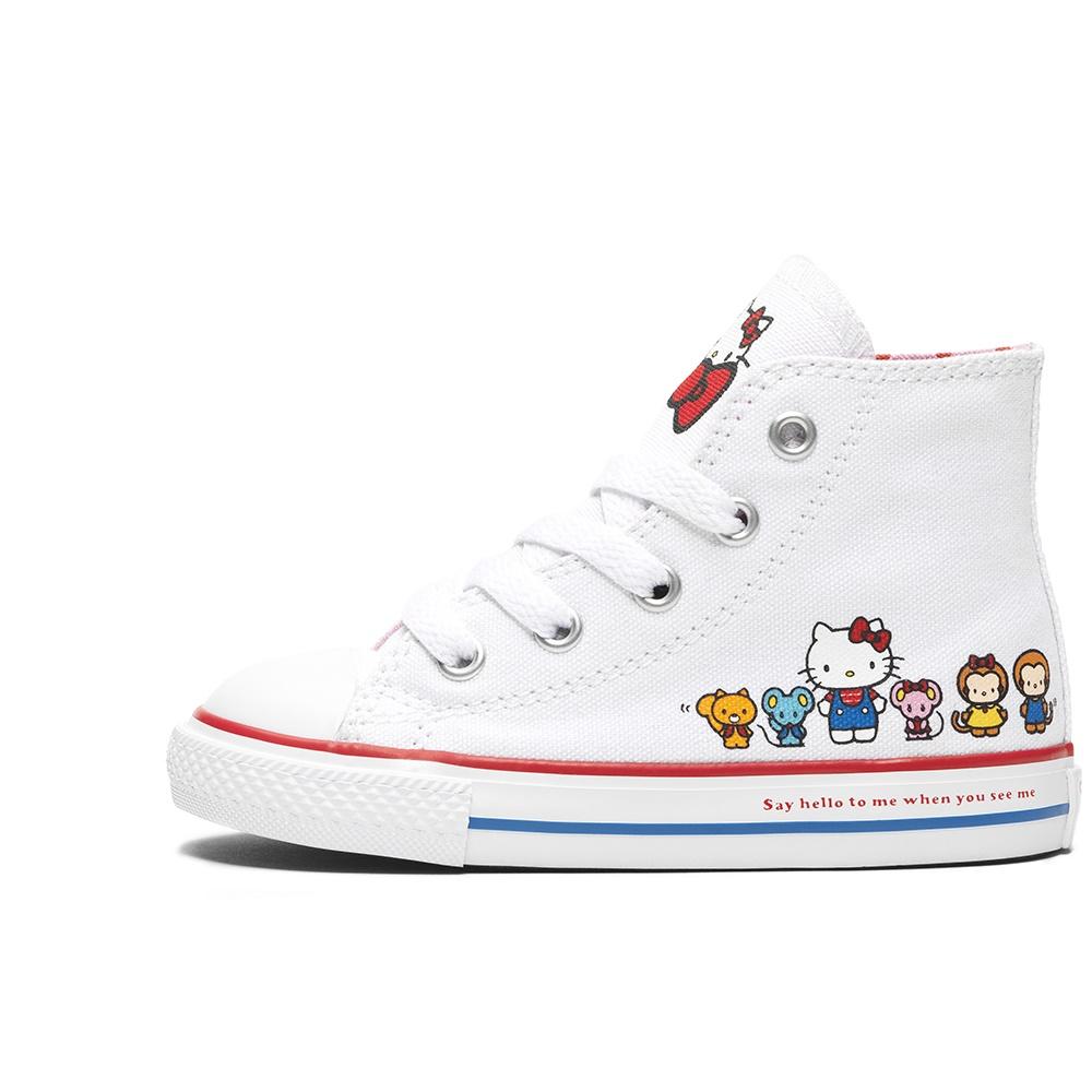 CONVERSE – Βρεφικά μποτάκια Converse x Hello Kitty CTAS CLASSIC HI λευκά