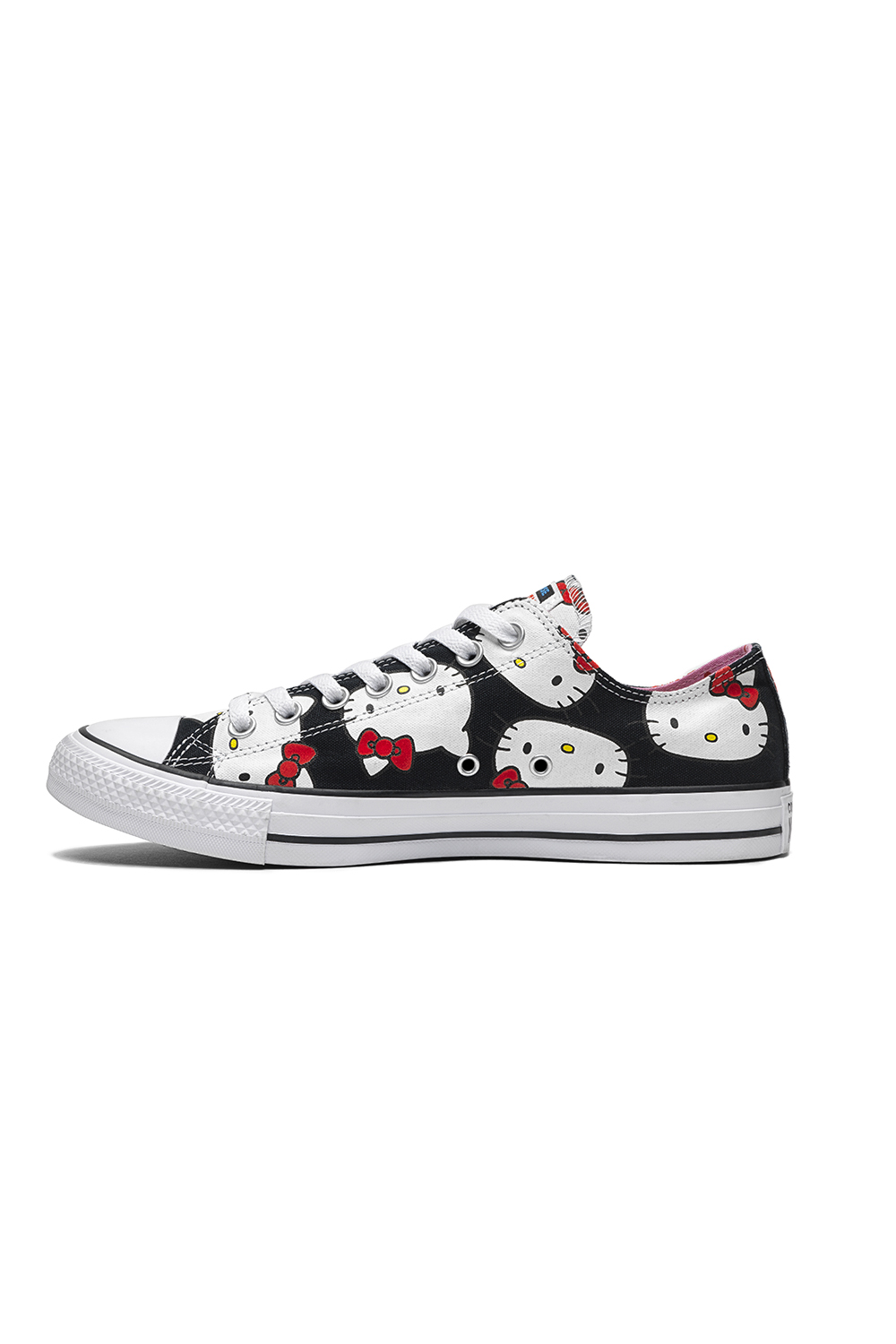 CONVERSE – Unisex sneakers Converse x Hello Kitty Chuck Taylor All Star μαύρα