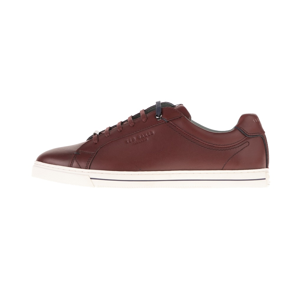 TED BAKER – Ανδρικά sneakers TED BAKER THAWNE μπορντό