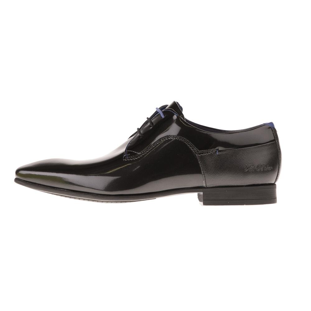 TED BAKER – Ανδρικά δετά παπούτσια TED BAKER TIFIR μαύρα
