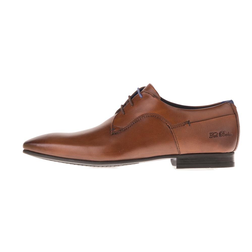 TED BAKER – Ανδρικά δετά παπούτσια TED BAKER TIFIR καφέ