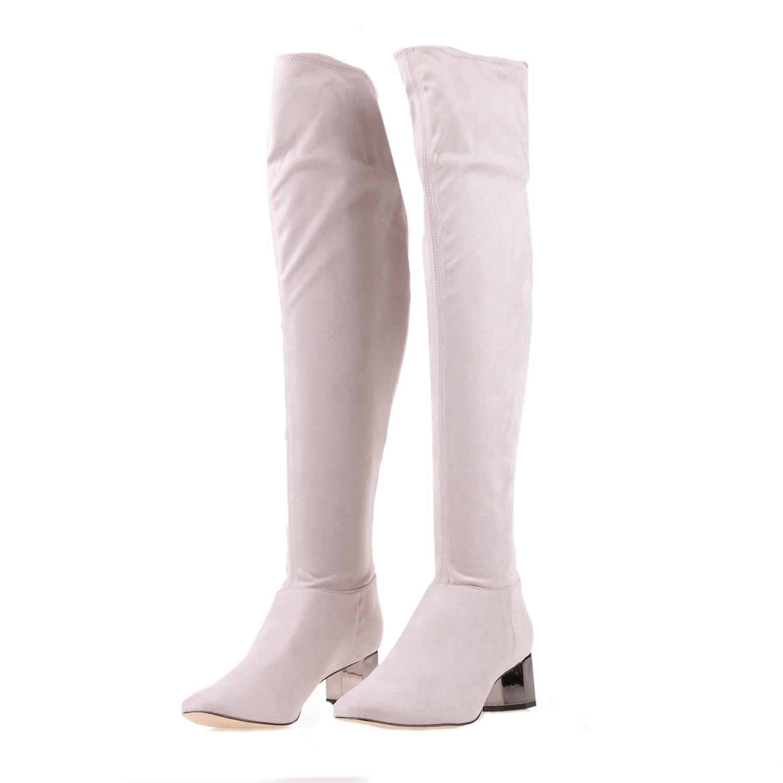 KATY PERRY – Γυναικείες μπότες KATY PERRY THE TRINITY γκρι