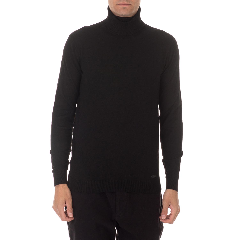 SSEINSE - Ανδρικό πουλόβερ ζιβάγκο SSEINSE DOLCEVITA μαύρο