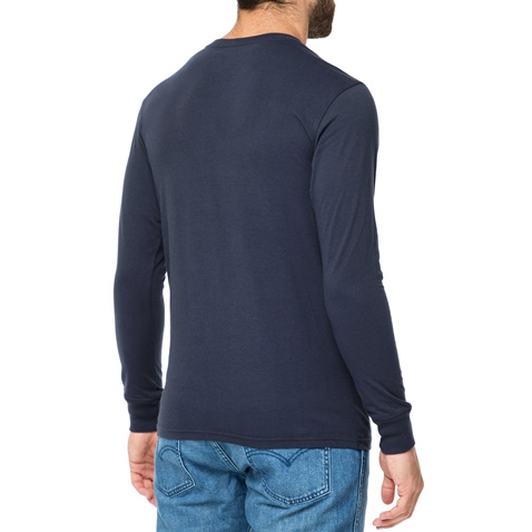 3729b017e963 Ανδρική μακρυμάνικη μπλούζα BILLABONG INVERSION μπλε σκούρο με στάμπα