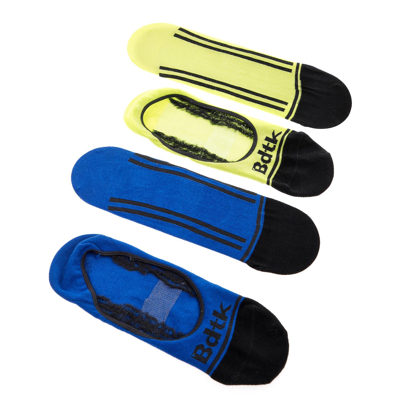 BODYTALK - Σετ σοσόνια 2 τμχ BODYTALK μπλε-κίτρινα γυναικεία αξεσουάρ κάλτσες