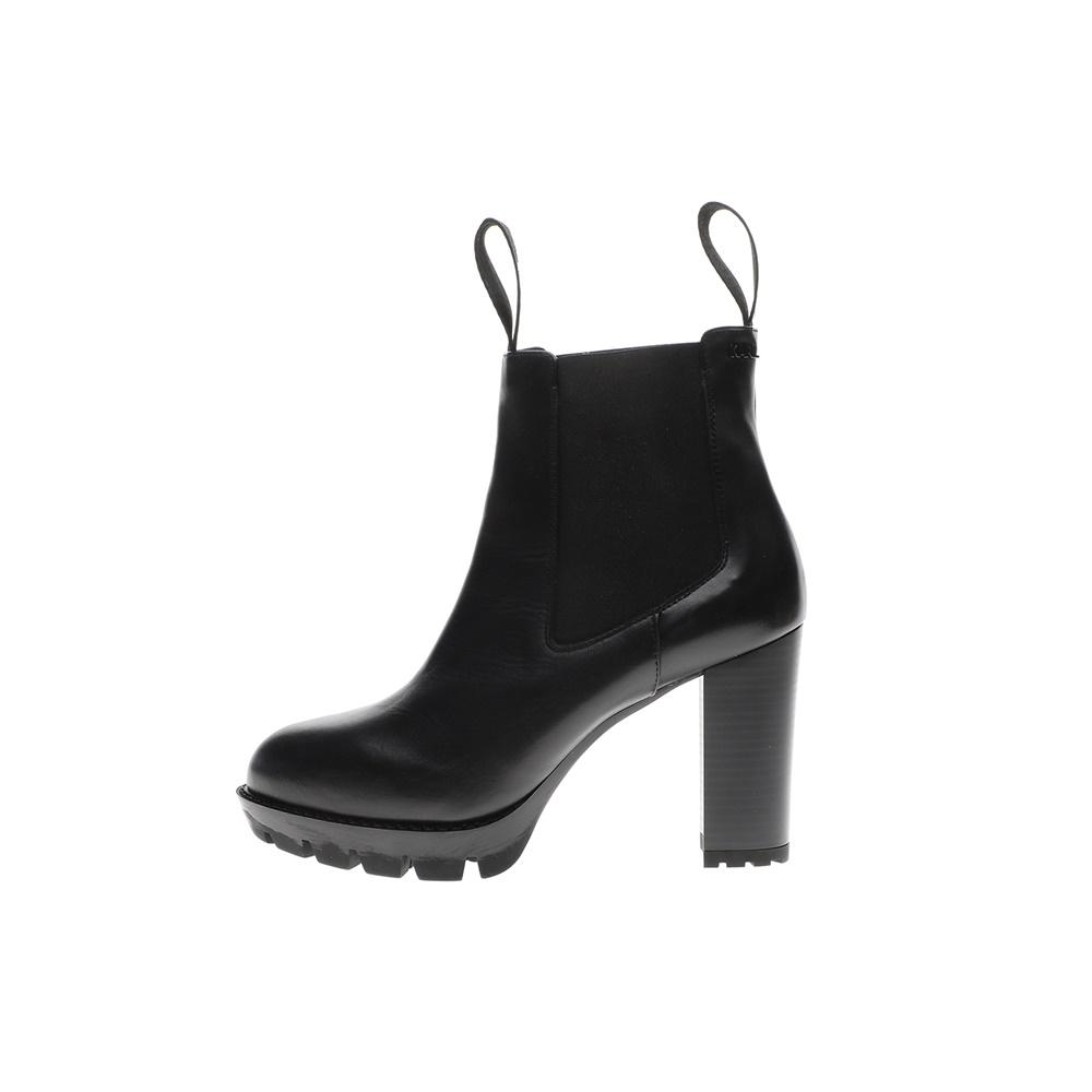 KARL LAGERFELD – Γυναικεία μποτάκια KARL LAGERFELD VOYAGE Ankle Gore Boot μαύρο