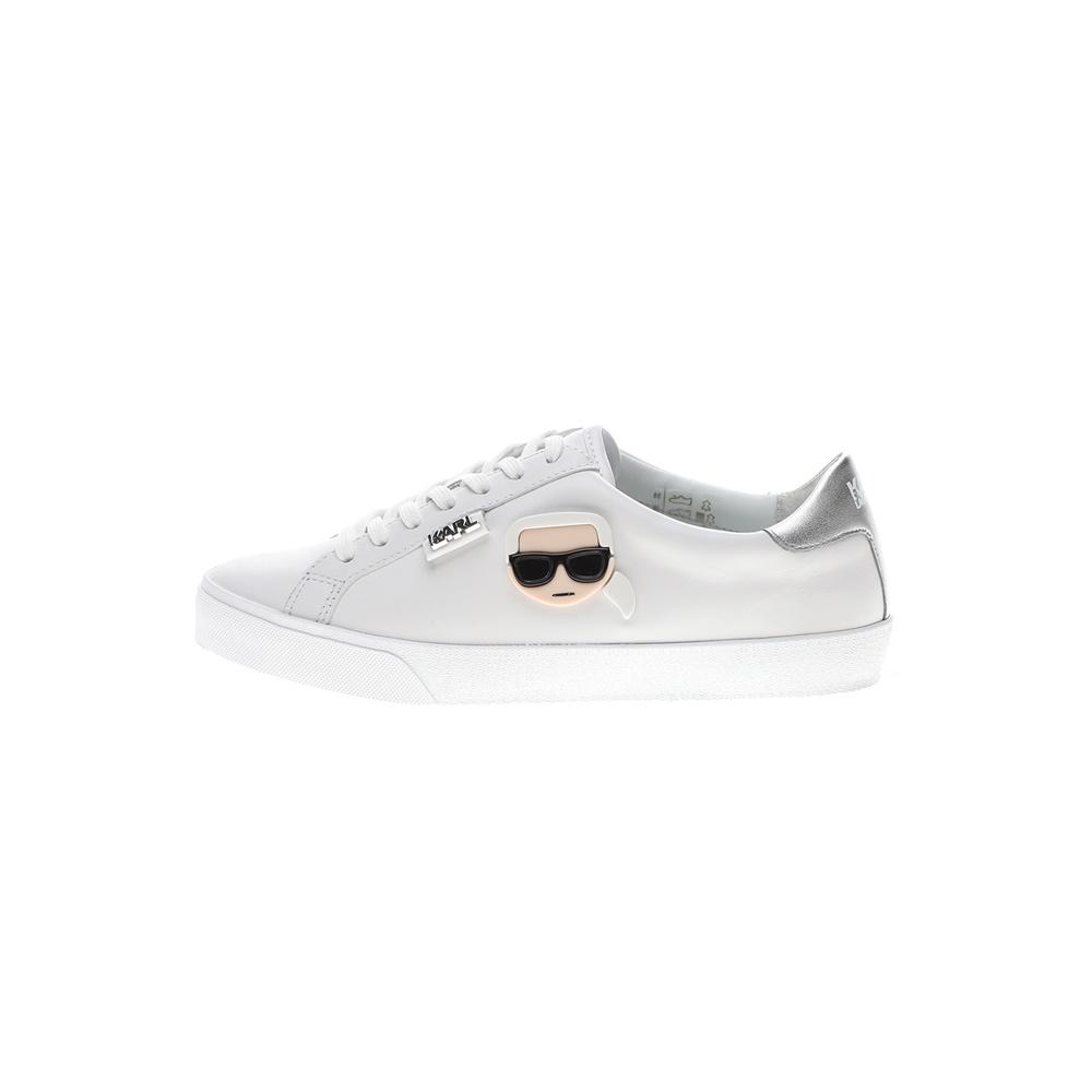 KARL LAGERFELD – Γυναικεία sneakers KARL LAGERFELD SKOOL Karl Plexikonic λευκό