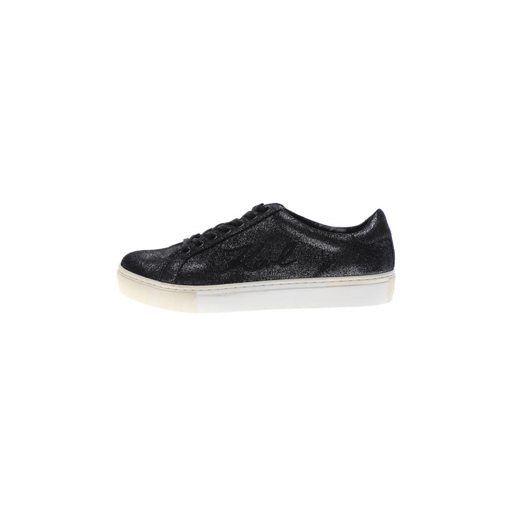 KARL LAGERFELD – Γυναικεία sneakers KARL LAGERFELD KUPSOLE Signia Shimmer γκρι