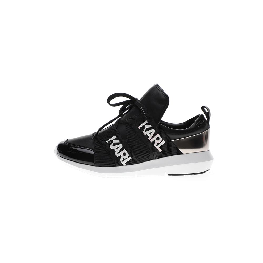 KARL LAGERFELD – Γυναικεία sneakers KARL LAGERFEND VITESSE Legere Strap Lthr μαύρα