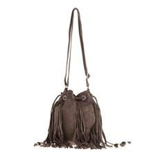 TOMS-Γυναικεία τσάντα ώμου TOMS ανθρακί