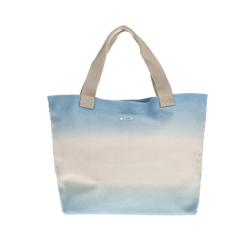 1503da9f98 -25% TOMS – Γυναικεία τσάντα ώμου TOMS γαλάζια-μπεζ
