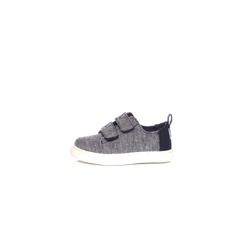 TOMS – Παιδικά παπούτσια Toms NAVY SLUB CHAMBRAY γκρι