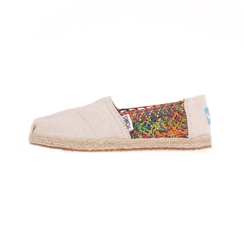 8b4c3998df7 -29% Factory Outlet TOMS – Παιδικά slip-ons TOMS MULTI CROCHET μπεζ