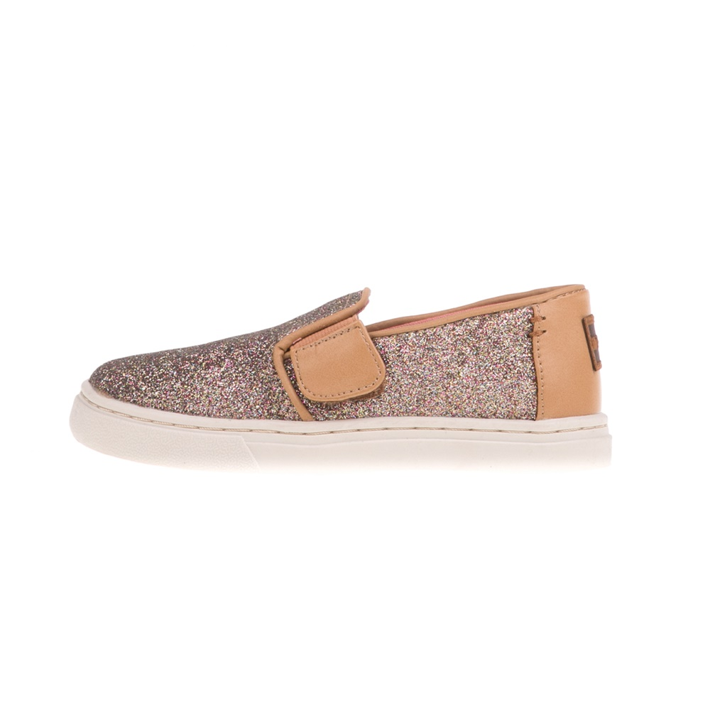 68f47b335b2 -30% Factory Outlet TOMS – Βρεφικά slip-ons με glitter TOMS GOLD GLIMMER  χρυσά
