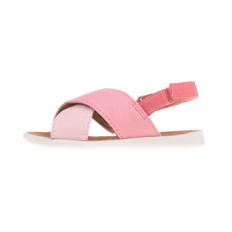 TOMS - Βρεφικά σανδάλια TOMS HIBISCUS ροζ παιδικά baby παπούτσια πέδιλα σανδάλια