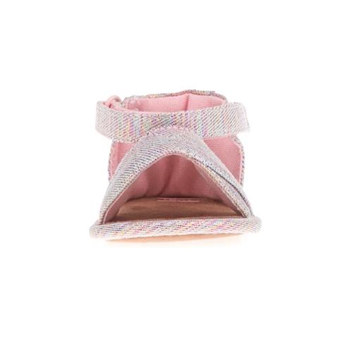 0fe5d5a025f Βρεφικά ριγέ σανδάλια TOMS SKY WASHED SHILOH ροζ (1666387.0-0004 ...