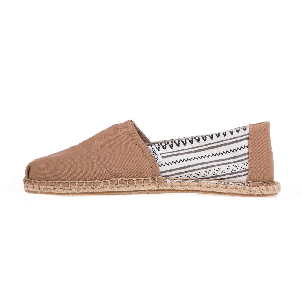 TOMS - Ανδρικές εσπαντρίγιες TOMS TOFFEE TRIBAL μπεζ ανδρικά παπούτσια εσπαντρίγιες