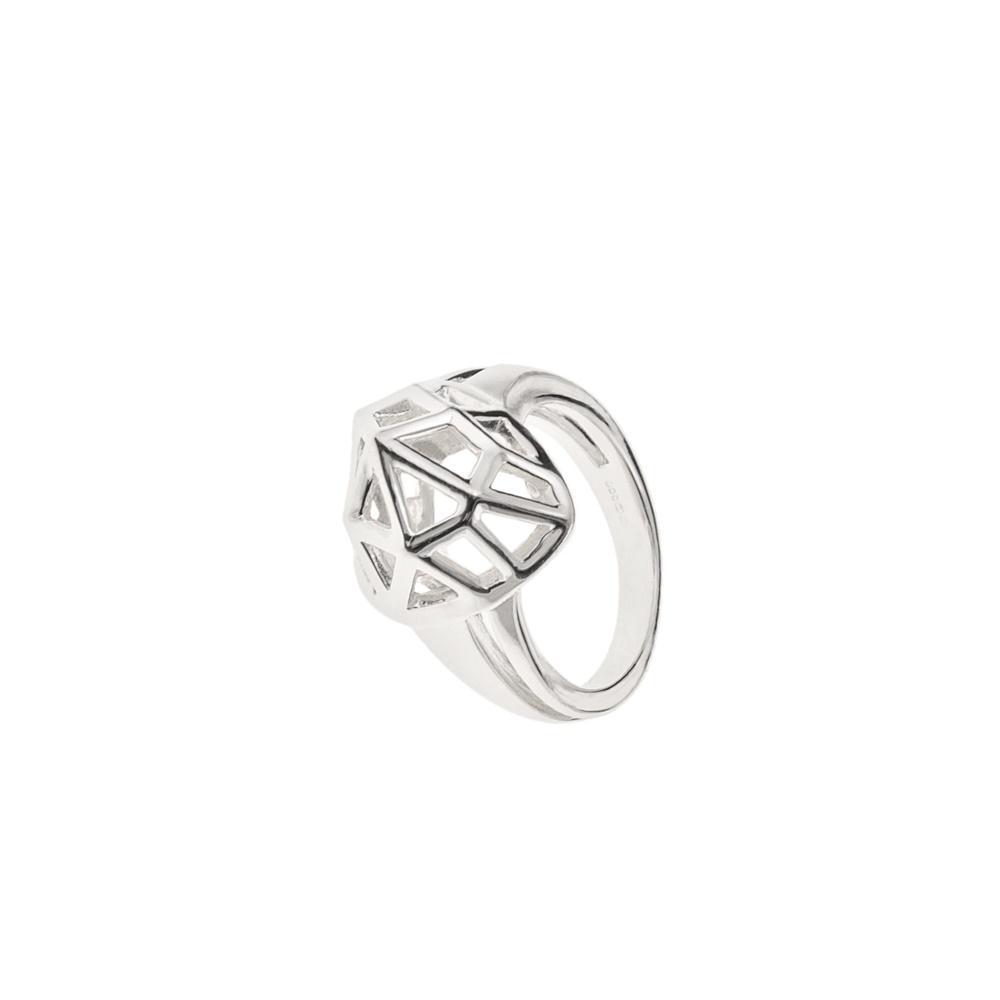 LINKS OF LONDON - Ασημένιο δαχτυλίδι F&W HEART - μέγεθος 50,5 γυναικεία αξεσουάρ κοσμήματα δαχτυλίδια