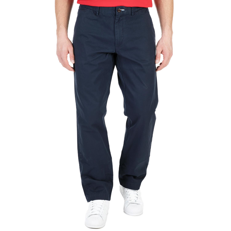 GANT - Ανδρικό παντελόνι GANT μπλε ανδρικά ρούχα παντελόνια φαρδιά γραμμή