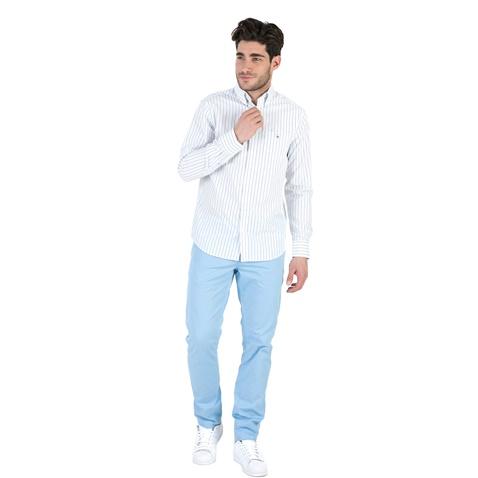 Ανδρικό μακρυμάνικο πουκάμισο GANT με γαλάζιες ρίγες (1666614.0-0039 ... d8c7b38202c