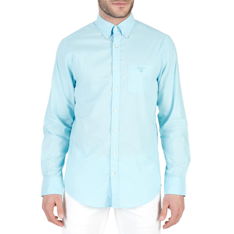 GANT - Ανδρικό μακρυμάνικο πουκάμισο GANT γαλάζιο ba4c7f0163e