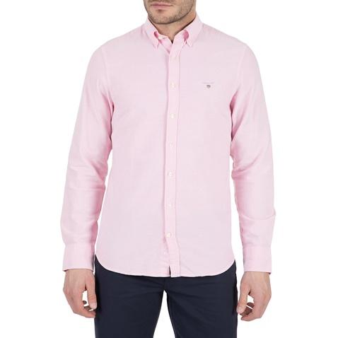 c4cbae9f8ea3 Ανδρικό μακρυμάνικο πουκάμισο Gant ροζ (1666645.0-0623)