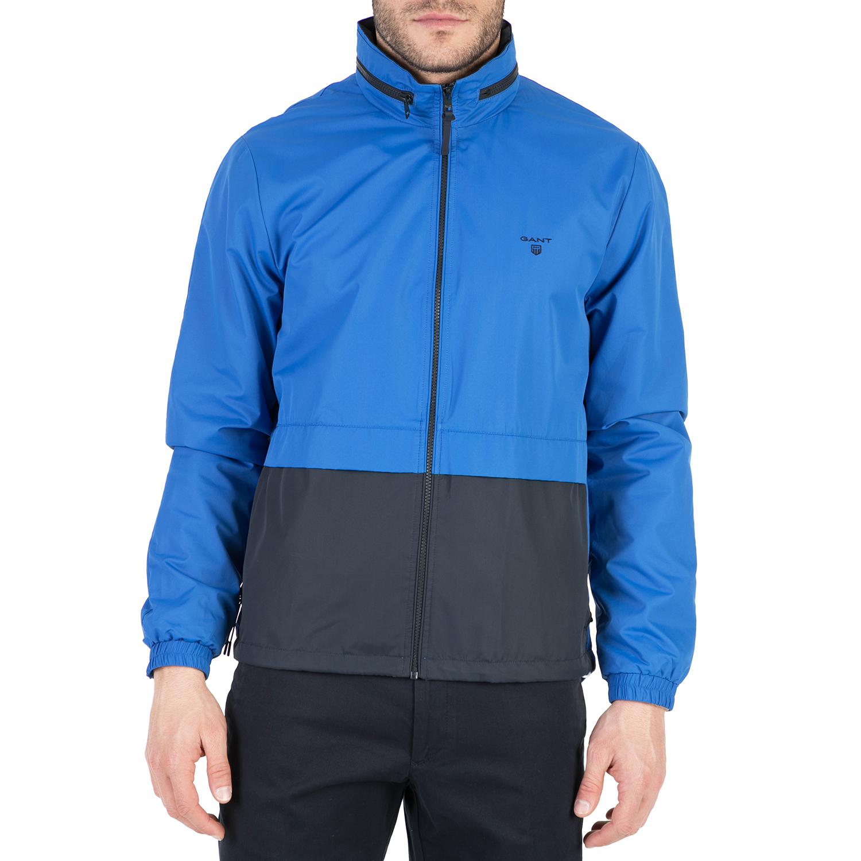 GANT - Ανδρικό μπουφάν GANT μπλε ανδρικά ρούχα πανωφόρια μπουφάν