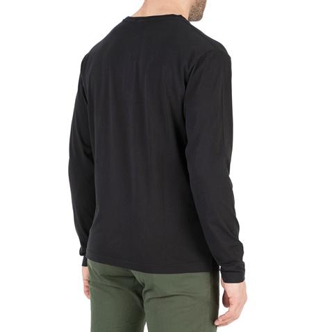 6da46ff6144f Ανδρική μακρυμάνικη μπλούζα GANT μαύρη (1666656.0-0487)