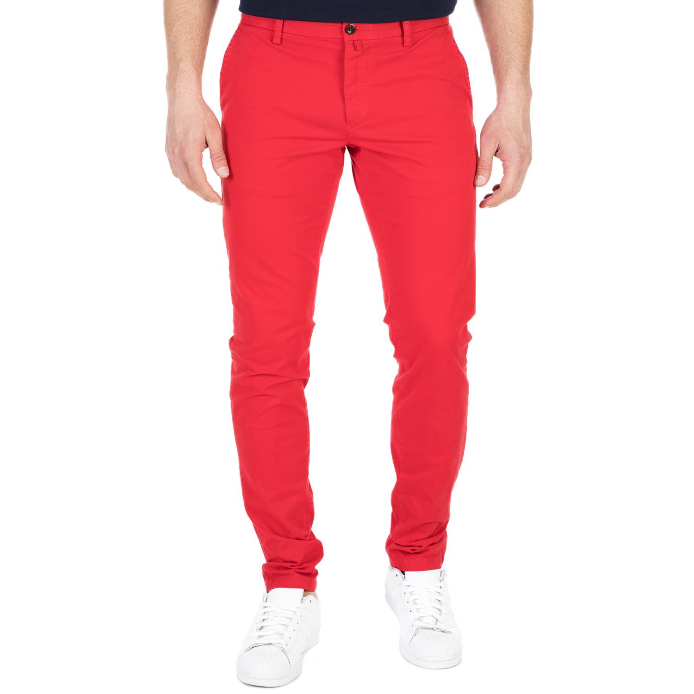 GANT - Ανδρικό chino παντελόνι GANT κόκκινη ανδρικά ρούχα παντελόνια chinos